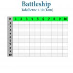 battleship tabellerne 1-10 tom