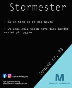 Stormester opgave 33